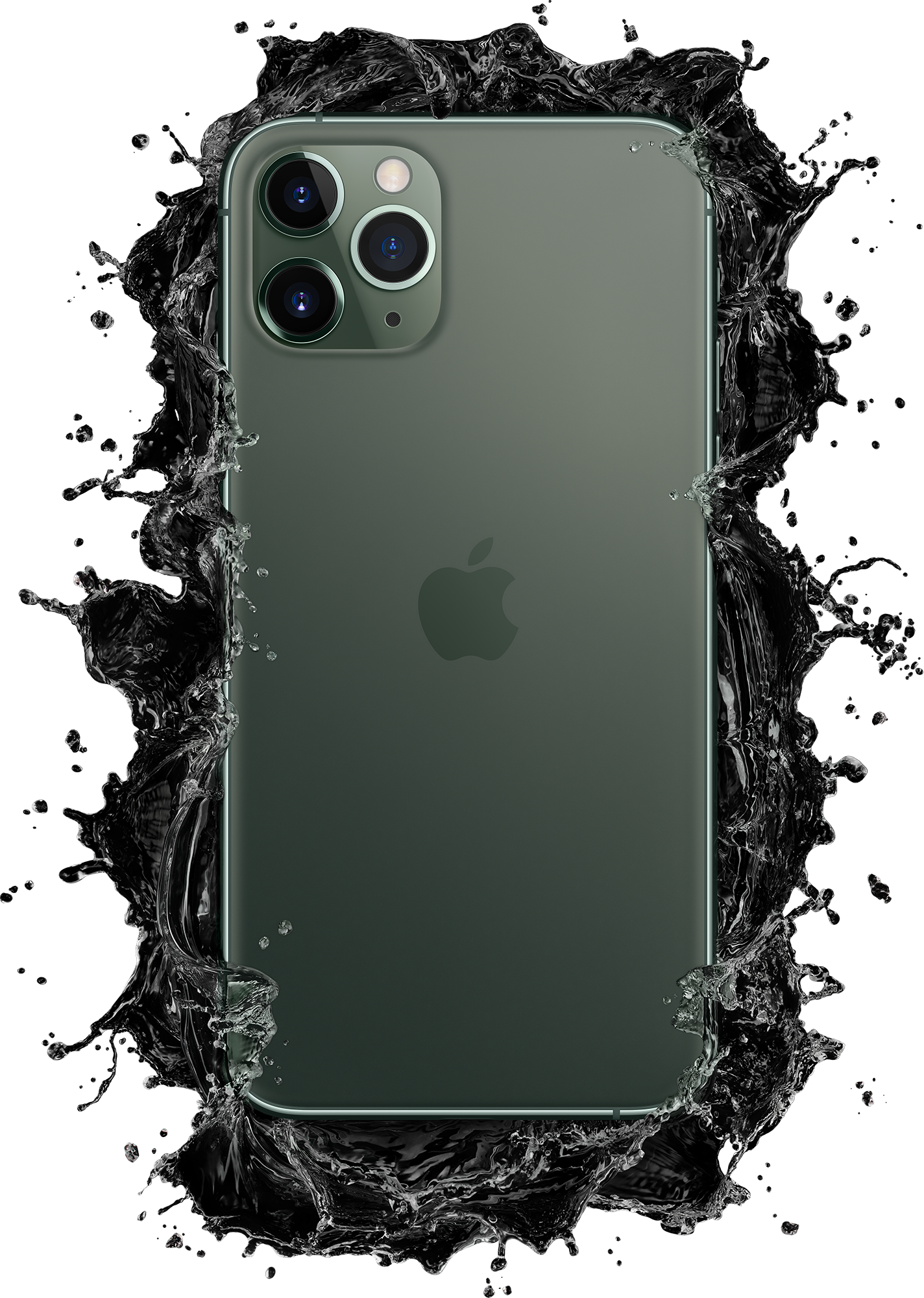 iPhone 11 Pro Green Splash